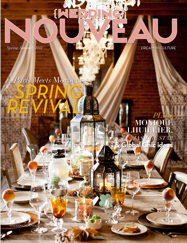 Wedding Nouveau Magazine Spring 2012 Issue