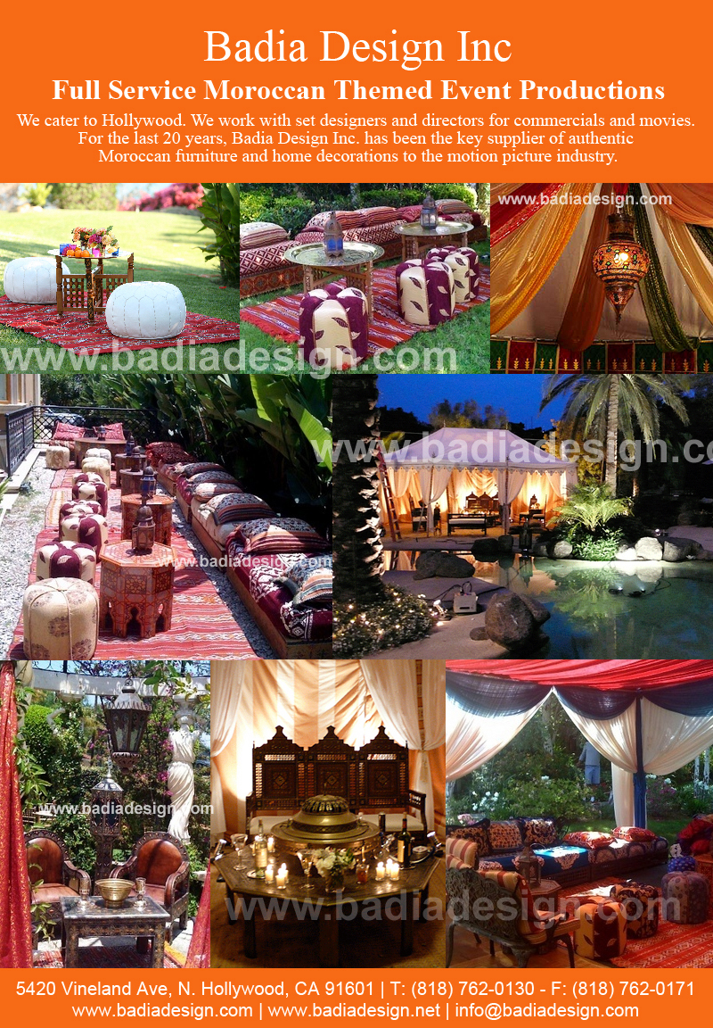 Moroccan Decorations Themed Party Rentals