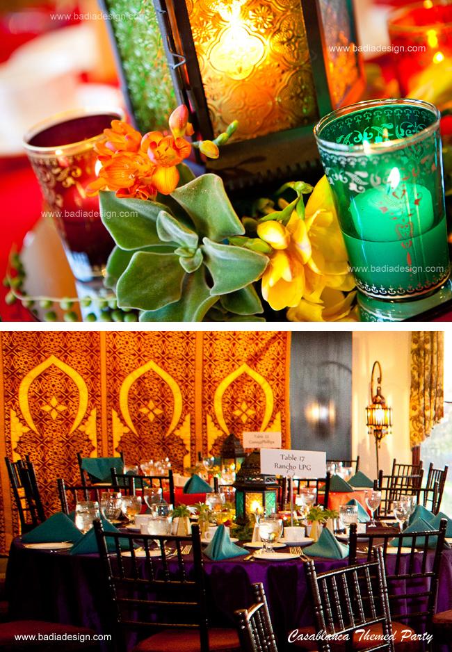 Casablanca themed party