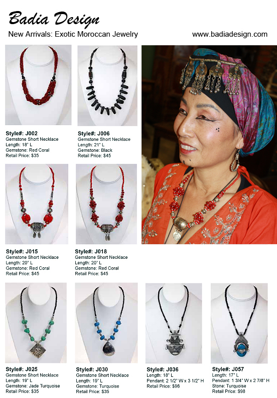 Exotic Moroccan Jewelry