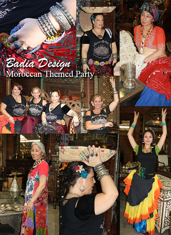 Moroccan themed party by badia design