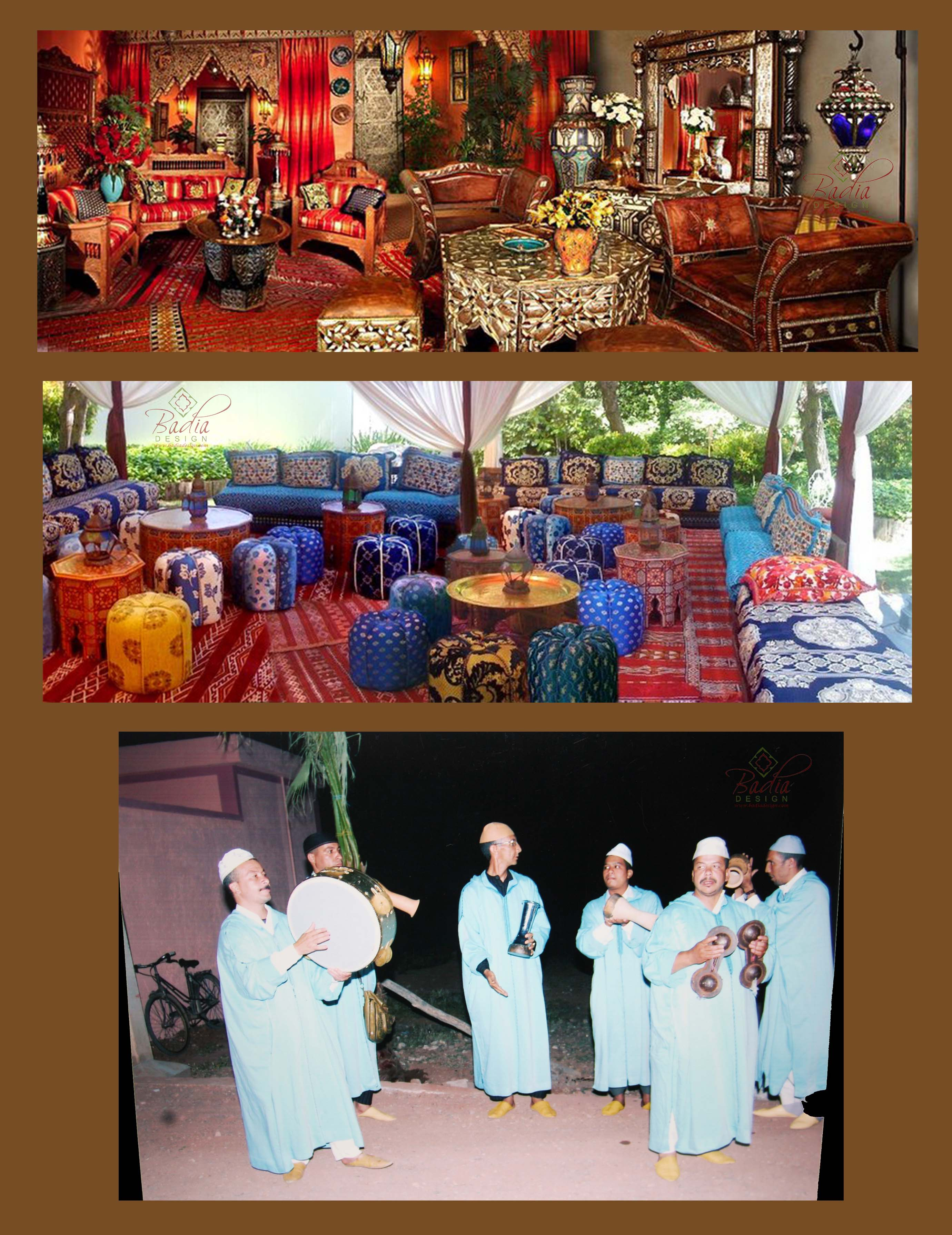 Arabian nights party rental los angeles moroccan themed for Arabian decoration materials trading