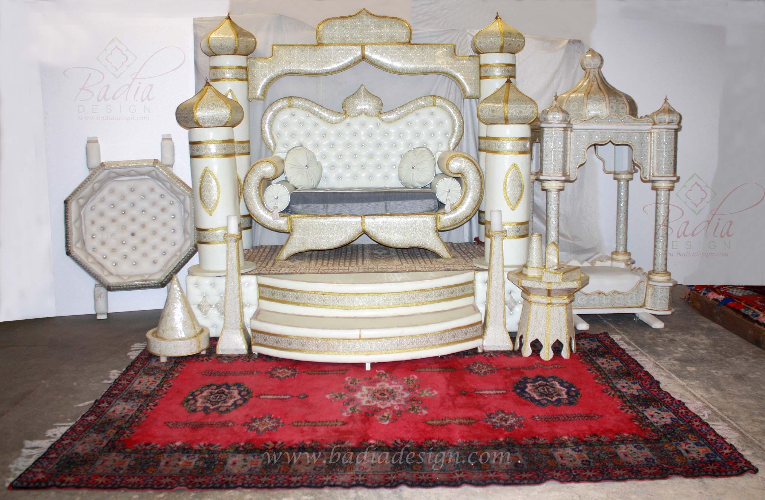 Authentic Moroccan Wedding Decorations, Authentic Moroccan Wedding Décor,  Wedding Furniture, Moroccan Wedding Décor