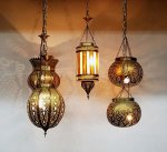Moroccan Hand Designed Brass Lanterns from Badia Design Inc.